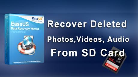 EaseUS SD Card Data Recovery Software