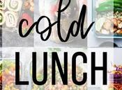 Cold Lunch Ideas Meal Prep