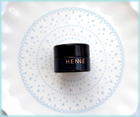 Henne Organics nordic berries lip exfoliator review
