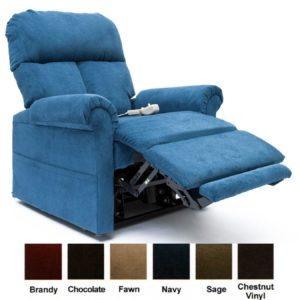 Easy Comfort LC-100 Infinite Position Lift Chair - Navy - lane stallion comfort king recliner (big man recliner 500 lb)