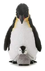 Image: Aurora World Emperor Penguin With Baby, 12-Inches