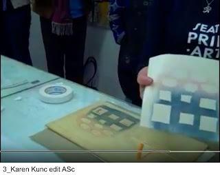 W is for woodcut printmaking - Karen Kunc - the smart Way