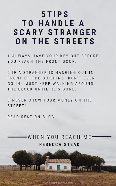 5 practical tips to handle a stranger from the book