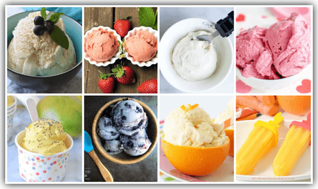 It's summer and everyone's craving frozen treats! Ensure nutrition and refreshment with these Healthy Ice Cream Recipes - even for babies under one!