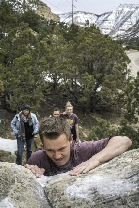 The Spartan Senders: Emery High Embraces Climbing