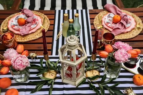 patio entertaining, picnic table setting, target style, dc blogger, lifestyle blogger, fashion, style, backyard party, myriad musings, saumya shiohare