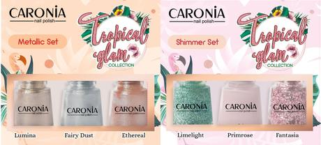 #NailGoals with Caronia Tropical Glam Collection