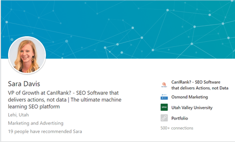 Sara Davis | VP Of Growth @CanIRank Explains How To Rank #1 on Google 2019