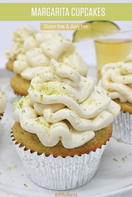 Margarita Cupcakes (gluten free, dairy free)
