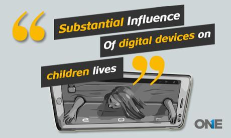 Substantial influence of digital devices on teens