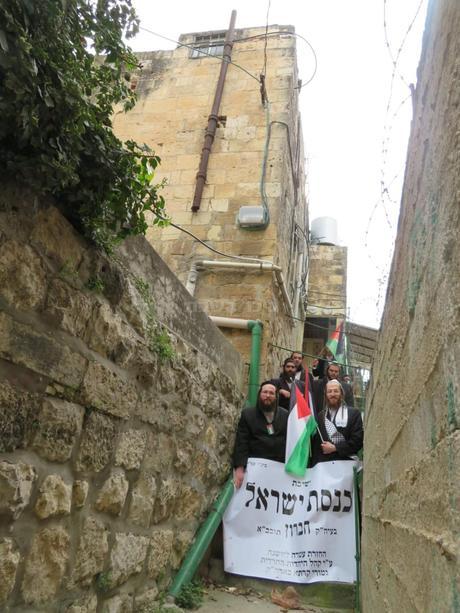 Chevron Yeshiva reopens in Hebron by Neturei Karta