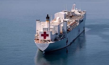 failure of socialism in Venezuela ~ US Hospital ship USNS Comfort
