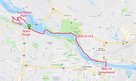 Untroubled Waters: The 6th Jacob Wells 3 Bridges Marathon (AR)