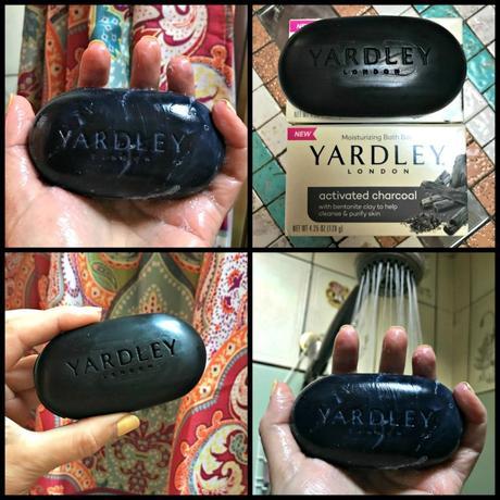 Yardley Activated Charcoal Bath Bar