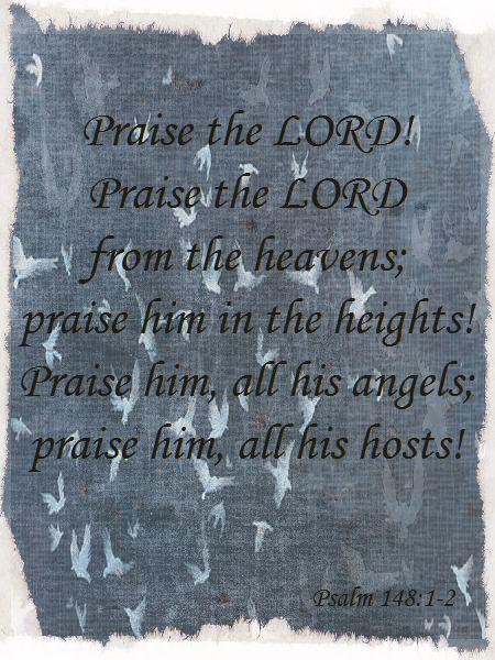 Psalm 29: Praise and glory to the Highest!