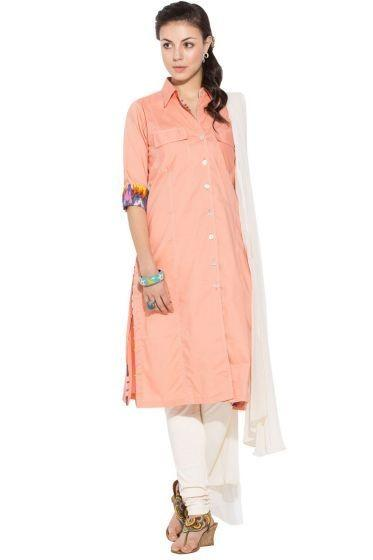 Collared Salwar Suit