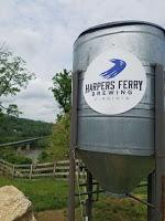 Harpers Ferry Brewing - Overlooking the Potomac and Maryland Heights