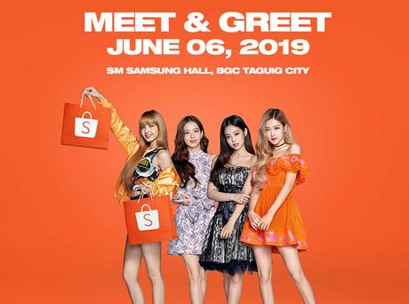 Shopee brings regional brand ambassador BLACKPINK to the Philippines for their first-ever Meet & Greet