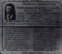 This day in baseball: First presidential pass