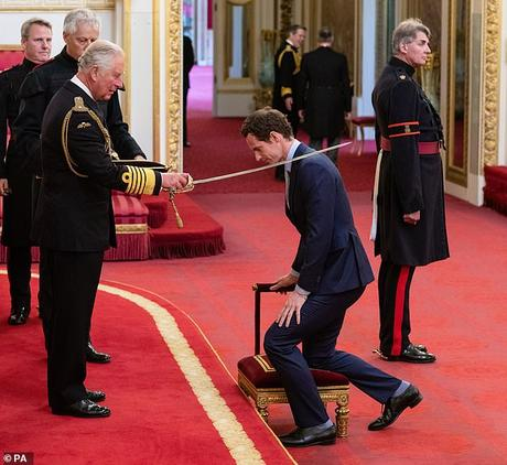 Tennis Andy Murray knighted
