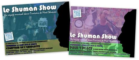 Upcoming Shuman Show dates in Bordeaux: June 14th and July 5th!