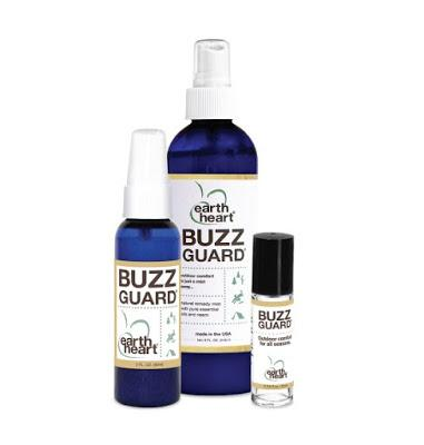 Buzz Guard All-Natural Insect Repellent Helps Keep Bugs Away