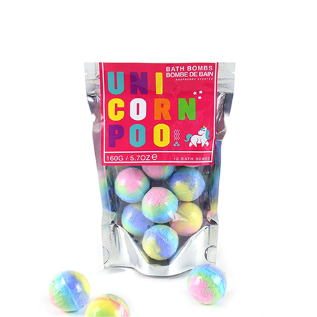 Competition – Win Unicorn Poo bath bombs