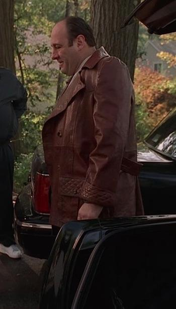 The Sopranos: Full Leather Jacket