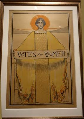 VOTES FOR WOMEN: A PORTRAIT OF PERSISTENCE, Exhibit at the National Portrait Gallery, Washington, D.C.