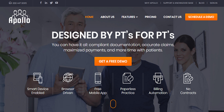 Apollo Physical Therapy Software Review: An All-in-One PT Practice Management Software