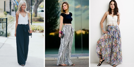 Outfit ideas for styling Palazzo