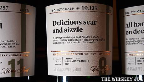 Label for the Delicious Sear and Sizzle