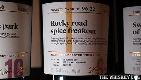 Label for the Rocky Road Spice Freakout