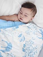 Organic Muslin Baby Toddler Blanket