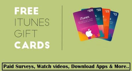10 Easy Ways To Get Free iTunes Gift Cards (& Codes) - Paperblog