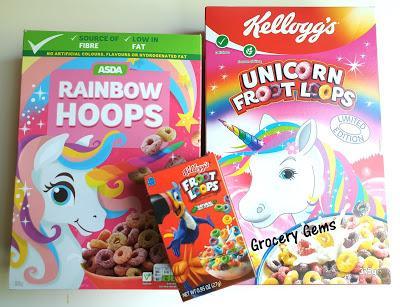 Review: Asda Rainbow Hoops Vs Kellogg's Froot Loops