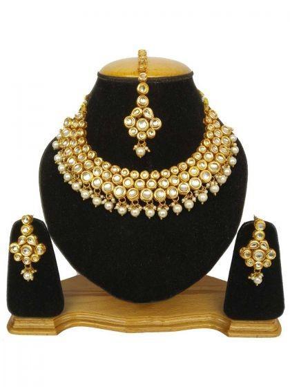 golden-and-off-white-kundan-wedding-necklace-set
