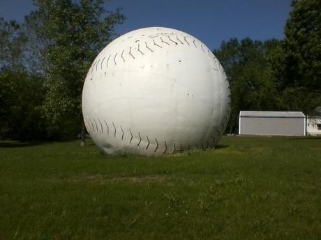 World's Largest Baseball: Muscotah, Kansas