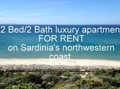 Rent: 2Bed/2Bath Luxury Apartment Northwestern Coast Sardinia, Italy