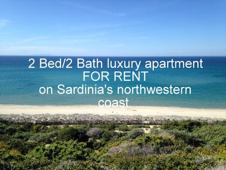 For Rent: 2Bed/2Bath luxury apartment on the northwestern coast of Sardinia, Italy