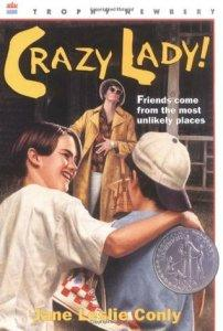 Banned Books 2019 – MAY READ – Crazy Lady by Jane Leslie Conly