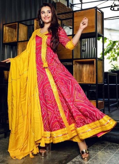 embroidered angrakha salwar