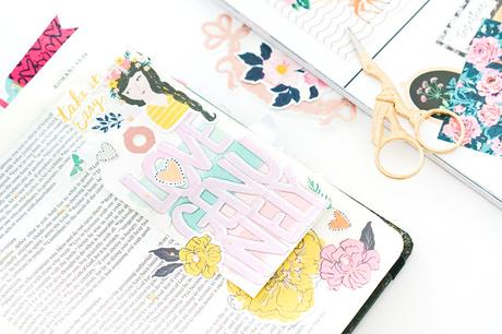 Maggie Holmes Design Team : Bible Journaling