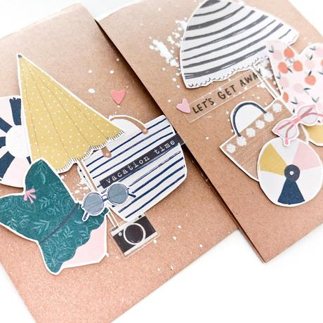 Maggie Holmes Design Team : Vacay Cards