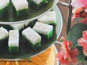 Kuih Talam Pandan Chiffon Cake