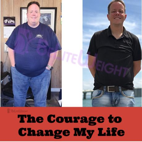 Courage to Change My Life: Jeff's 4 Year Update