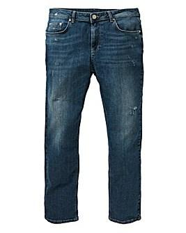 Loose Indigo Premium Wash Jeans from Jacamo