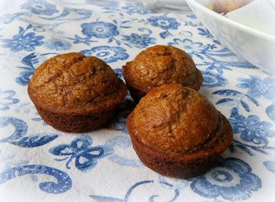 Spiced Pear Pinch Muffins