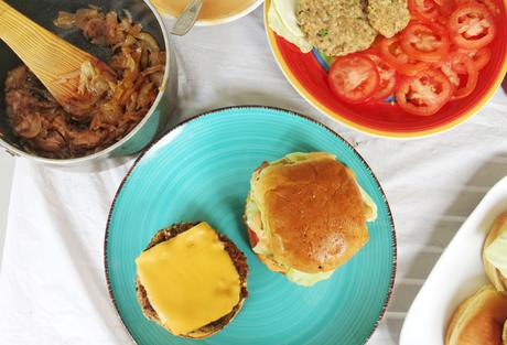Veggie Burger (No potato patty)