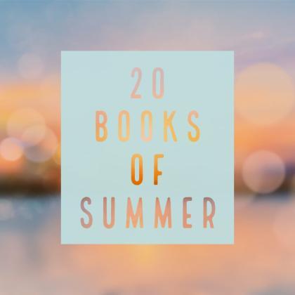 20 Books of Summer 2019 #20BooksofSummer